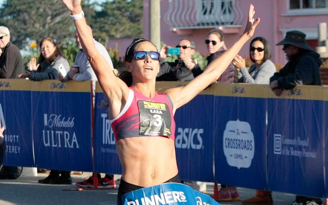 Kara Goucher Takes Half Marathon Title