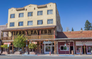 59324440 - old tavern in main street truckee, california, america