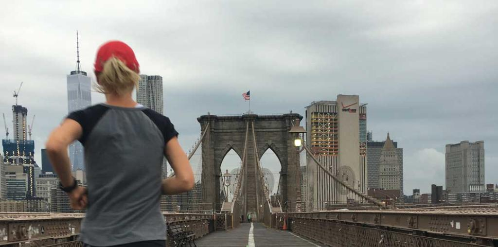 Sarah Mac Robinson Running New York