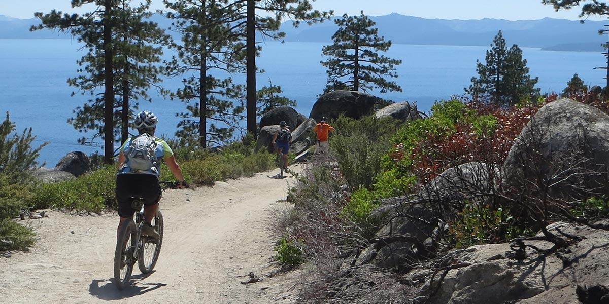 Incline Village Mountain Biking Late Tahoe