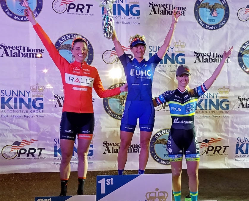 3rd Place for Team TIBCO-Silicon Valley Bank 2015 National Criterium Champion